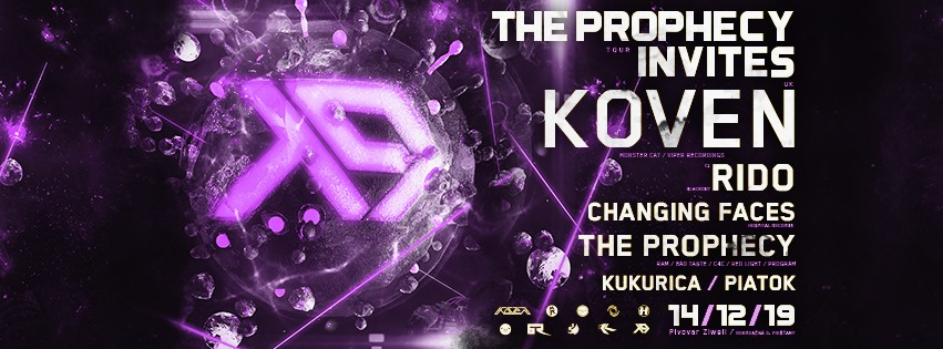The Prophecy invites w/ KOVEN (UK)