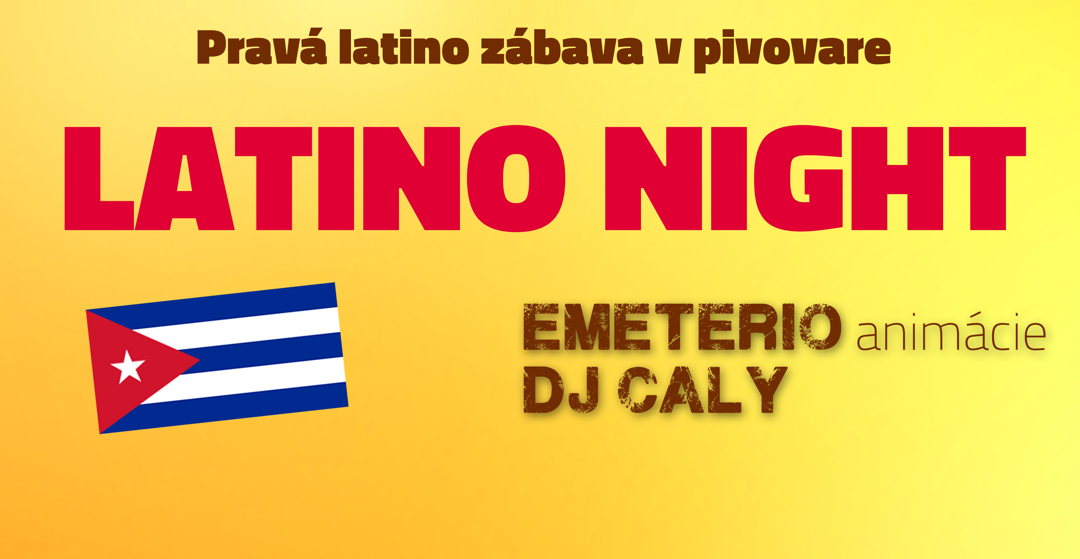 latino party piestansky pivovar ziwell