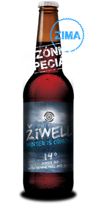 ŽiWell Winter is Coming pivo